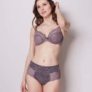 Full cup bra - Grey
