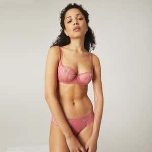 Brief - Blush pink