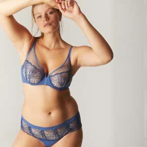 Shorty - Jeansblau