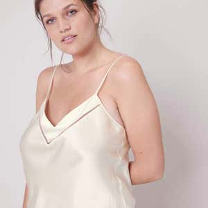 Silk top - Natural