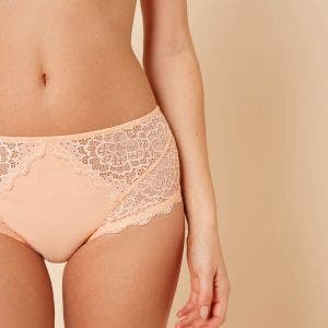 High-waist brief - Palm beach