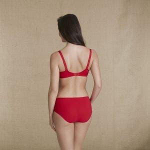 Culotte taille haute - Ecarlate