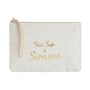 Sea sun & simone beauty bag - Natural