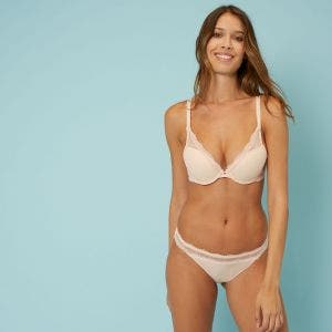 Soutien-gorge push-up triangle - Aurore