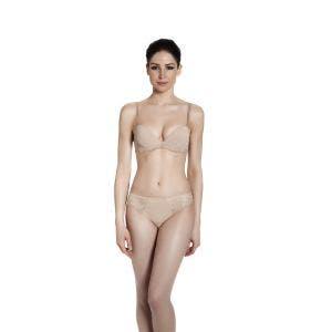 Push-up with racerback bra - Nude