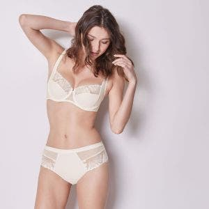 Full cup bra - Natural