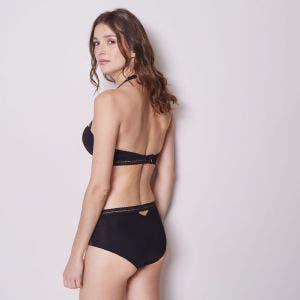 Culotte taille haute - Noir