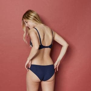 Taillen-Slip - Marine Blau