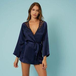 Kimono - Nachtblauw