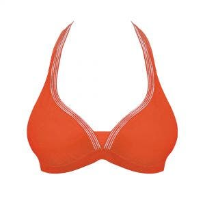 Wireless bikini triangle - Orange