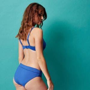 Bikini-Slip mit hohem Bund - Pacific