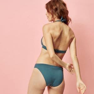Culotte de bain - Bleu paon