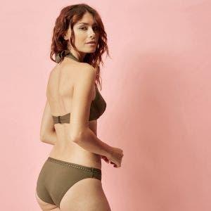 Underwired bikini triangle - Olive