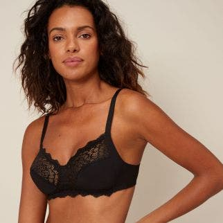 Soft cup bra - Black