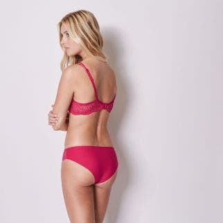 Cotton brief - Poppy Red