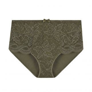 High-waist brief - Safari