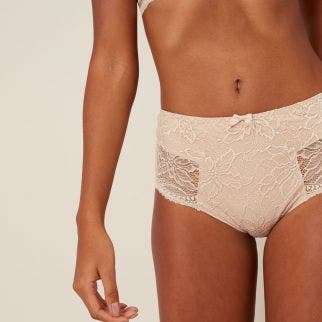 Retro brief - Peau Rose