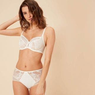 Hoge tailleslip - NATUREL