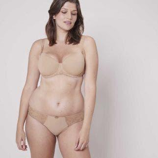 3D moulded bra - Nude