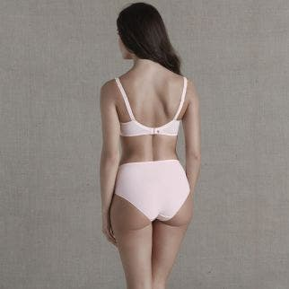 Full cup support bra - Blush