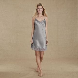 Silk nightdress - Cloud