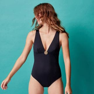 Wireless one-piece swimsuit - Black