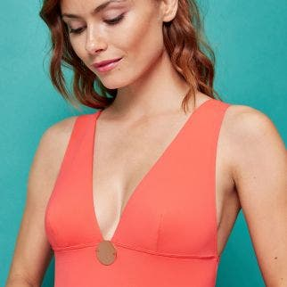 Wireless one-piece swimsuit - Clémentine
