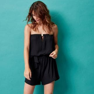 Boyleg one-piece - Black