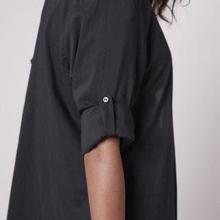 Robe de plage longue - Noir