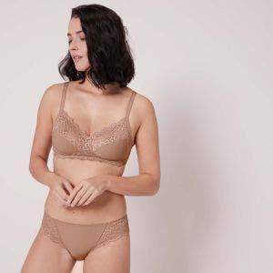 Soft cup bra - Preppy Nude