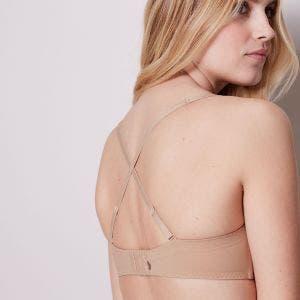 Trägerloser BH, Bandeau-Form - Skin