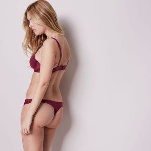 Cotton Thong - Cherry