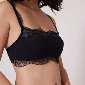 Underwired bandeau - Black