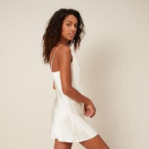 Short nightdress - Natural