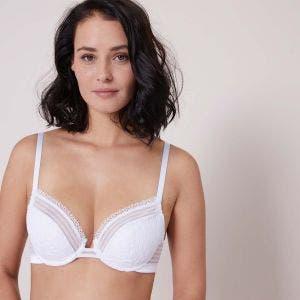 Push-up bra - White