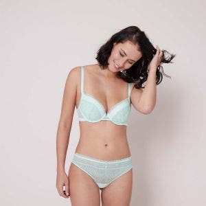 Push-up bra - Sea green