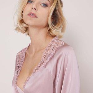 Kimono - Rose taupe