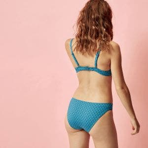 Bikini brief - Lagon / bleu paon
