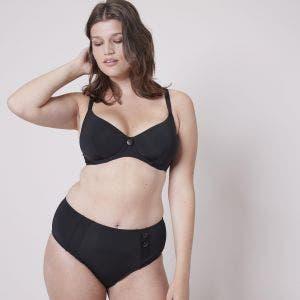 Underwired bikini top - Black