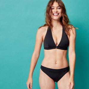 Wireless bikini triangle - Black