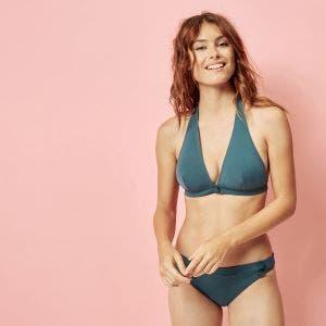 Bikini-Slip - Bleu paon