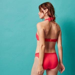 Underwired bikini triangle - Red