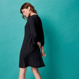 Long sleeves tunic - Black