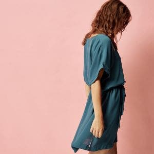 Tunic - Bleu paon
