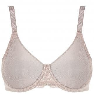 Rigid moulded bra - Nutmeg