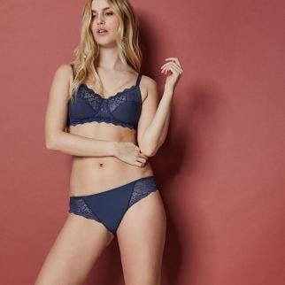 Culotte - Bleu abysse