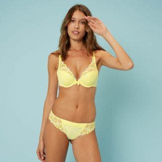 Triangle push-up bra - Lemonade