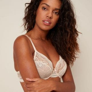 Full cup bra - Peau Rose