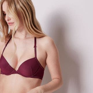 Push-up bra - Cherry