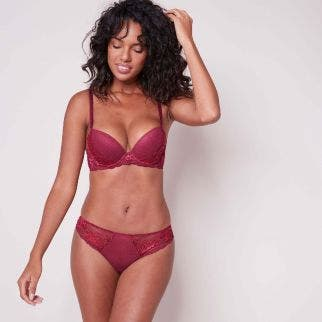 Push-up bra - Tourmaline Fushia